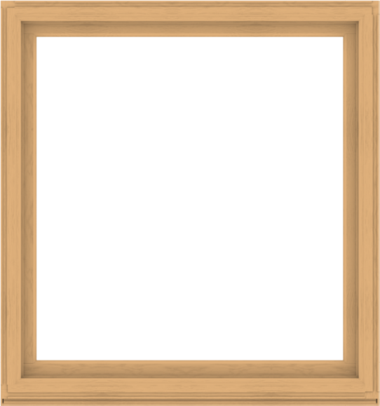 WDMA 60x64 (59.5 x 63.5 inch) Composite Wood Aluminum-Clad Picture Window without Grids-3