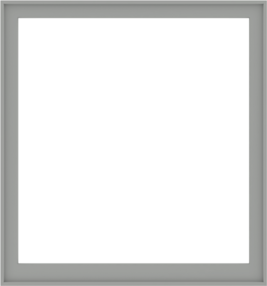 WDMA 60x64 (59.5 x 63.5 inch) Composite Wood Aluminum-Clad Picture Window without Grids-5