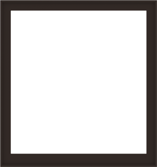 WDMA 60x64 (59.5 x 63.5 inch) Composite Wood Aluminum-Clad Picture Window without Grids-6