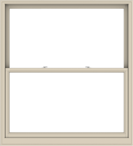 WDMA 60x66 (59.5 x 65.5 inch)  Aluminum Single Hung Double Hung Window without Grids-2