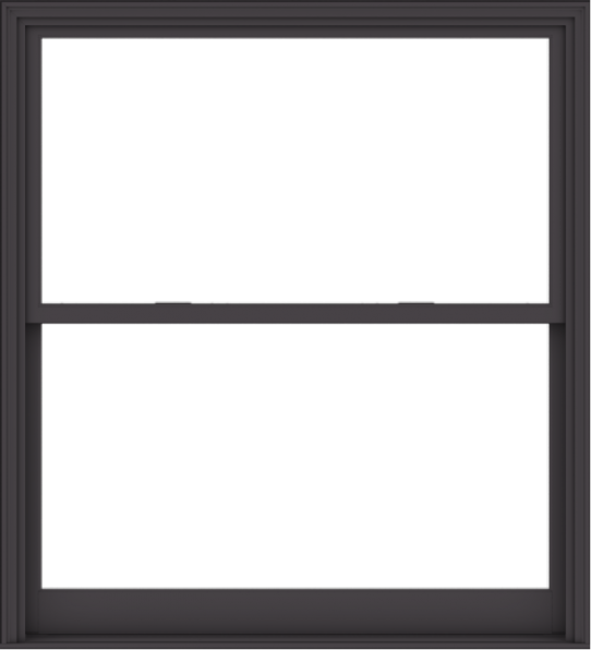 WDMA 60x66 (59.5 x 65.5 inch)  Aluminum Single Hung Double Hung Window without Grids-3