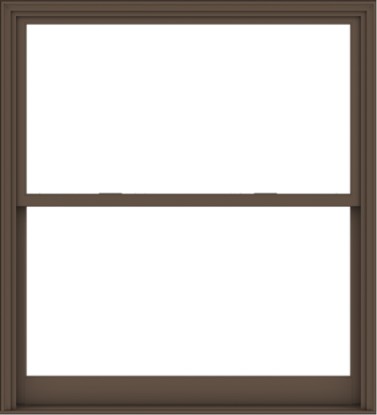 WDMA 60x66 (59.5 x 65.5 inch)  Aluminum Single Hung Double Hung Window without Grids-4
