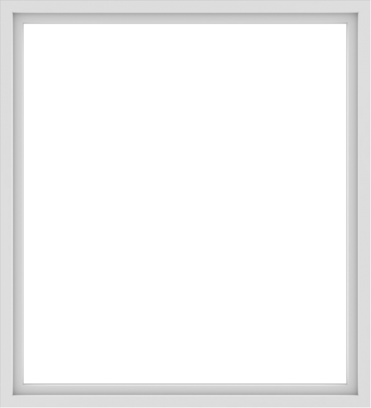 WDMA 60x66 (59.5 x 65.5 inch) Vinyl uPVC White Picture Window without Grids-1