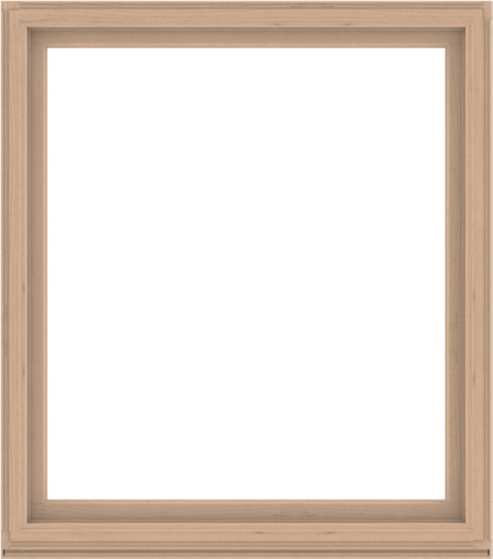 WDMA 60x68 (59.5 x 67.5 inch) Composite Wood Aluminum-Clad Picture Window without Grids-2