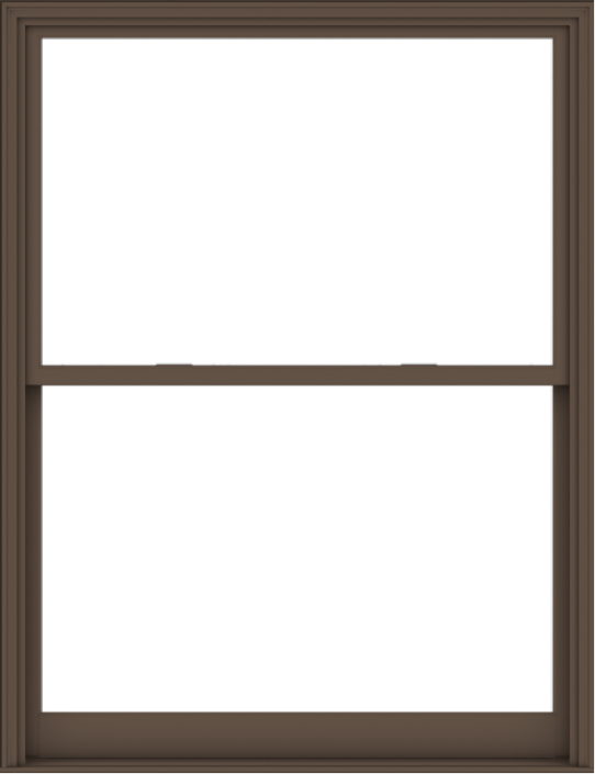 WDMA 60x78 (59.5 x 77.5 inch)  Aluminum Single Hung Double Hung Window without Grids-4