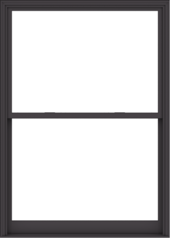 WDMA 60x84 (59.5 x 83.5 inch)  Aluminum Single Hung Double Hung Window without Grids-3