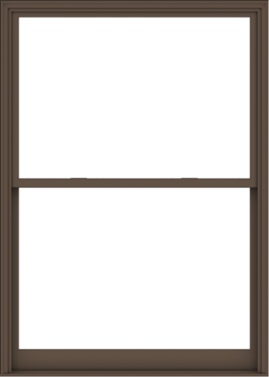 WDMA 60x84 (59.5 x 83.5 inch)  Aluminum Single Hung Double Hung Window without Grids-4