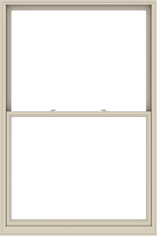 WDMA 60x90 (59.5 x 89.5 inch)  Aluminum Single Hung Double Hung Window without Grids-2