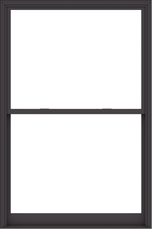 WDMA 60x90 (59.5 x 89.5 inch)  Aluminum Single Hung Double Hung Window without Grids-3