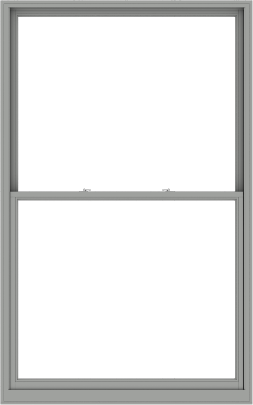 WDMA 60x96 (59.5 x 95.5 inch)  Aluminum Single Double Hung Window without Grids-1