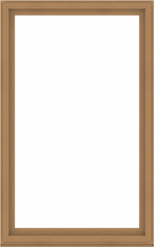 WDMA 60x96 (59.5 x 95.5 inch) Composite Wood Aluminum-Clad Picture Window without Grids-1