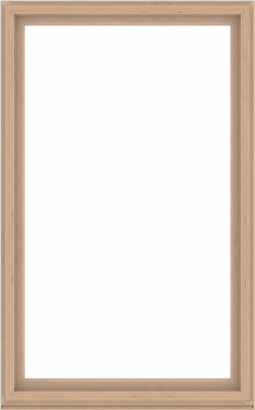 WDMA 60x96 (59.5 x 95.5 inch) Composite Wood Aluminum-Clad Picture Window without Grids-2