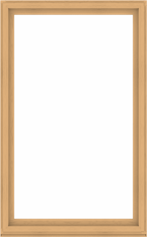 WDMA 60x96 (59.5 x 95.5 inch) Composite Wood Aluminum-Clad Picture Window without Grids-3
