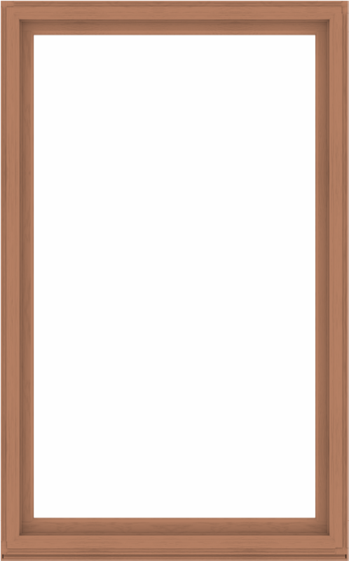 WDMA 60x96 (59.5 x 95.5 inch) Composite Wood Aluminum-Clad Picture Window without Grids-4