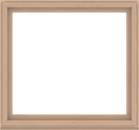 WDMA 64x60 (63.5 x 59.5 inch) Composite Wood Aluminum-Clad Picture Window without Grids-2