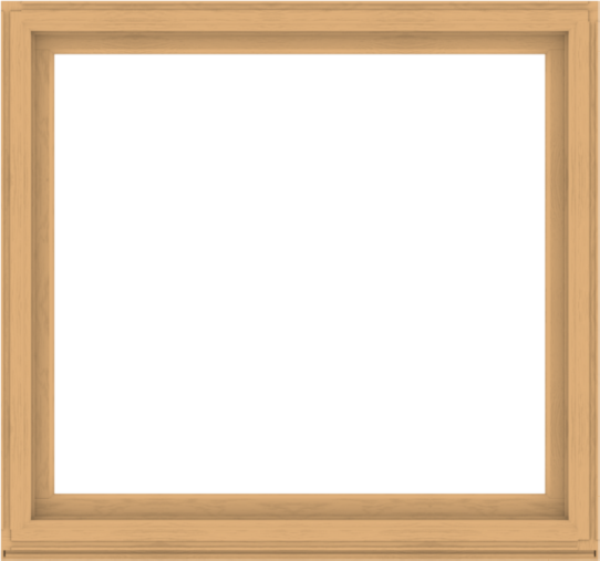 WDMA 64x60 (63.5 x 59.5 inch) Composite Wood Aluminum-Clad Picture Window without Grids-3