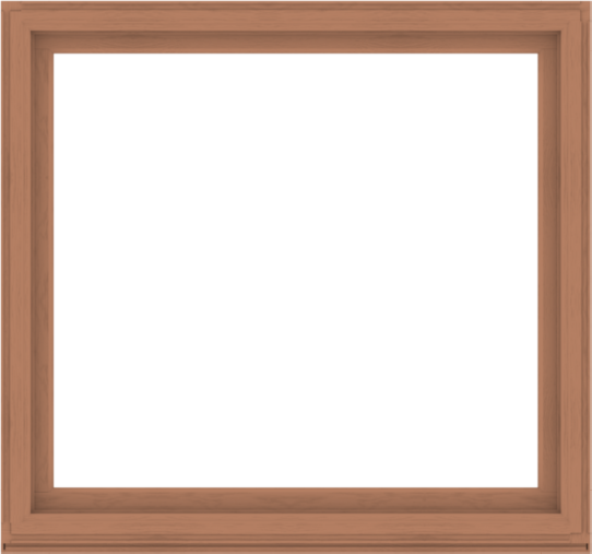 WDMA 64x60 (63.5 x 59.5 inch) Composite Wood Aluminum-Clad Picture Window without Grids-4