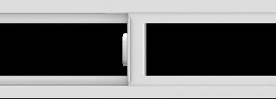WDMA 66x12 (65.5 x 11.5 inch) Vinyl uPVC White Slide Window without Grids Interior