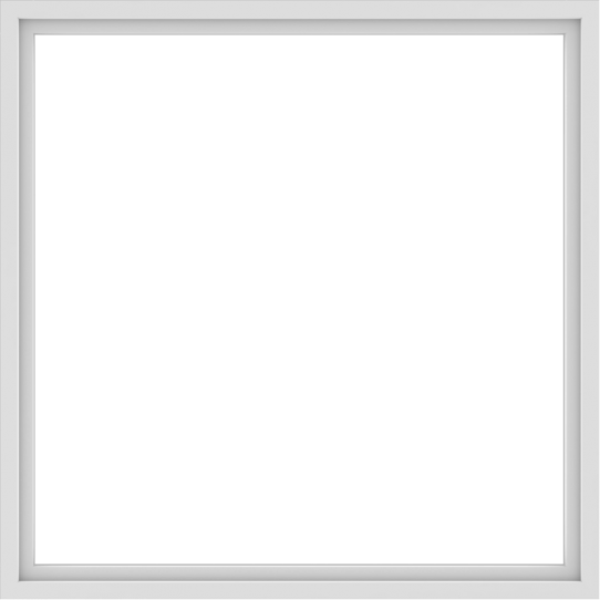 WDMA 66x66 (65.5 x 65.5 inch) Vinyl uPVC White Picture Window without Grids-1