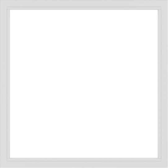 WDMA 66x66 (65.5 x 65.5 inch) Vinyl uPVC White Picture Window without Grids-2