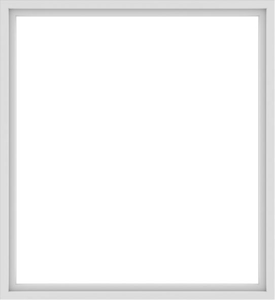 WDMA 66x72 (65.5 x 71.5 inch) Vinyl uPVC White Picture Window without Grids-1