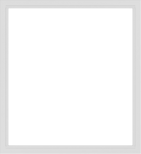 WDMA 66x72 (65.5 x 71.5 inch) Vinyl uPVC White Picture Window without Grids-2