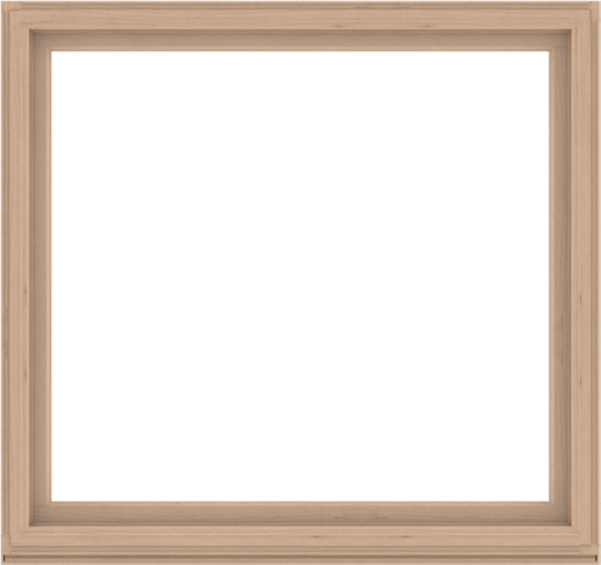 WDMA 68x64 (67.5 x 63.5 inch) Composite Wood Aluminum-Clad Picture Window without Grids-2