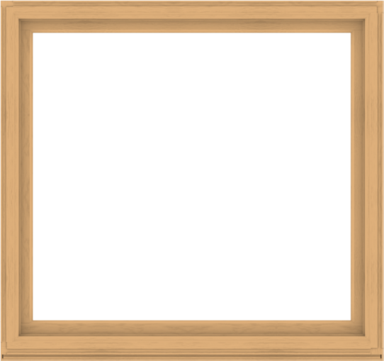 WDMA 68x64 (67.5 x 63.5 inch) Composite Wood Aluminum-Clad Picture Window without Grids-3
