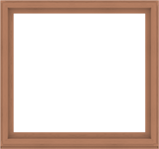 WDMA 68x64 (67.5 x 63.5 inch) Composite Wood Aluminum-Clad Picture Window without Grids-4