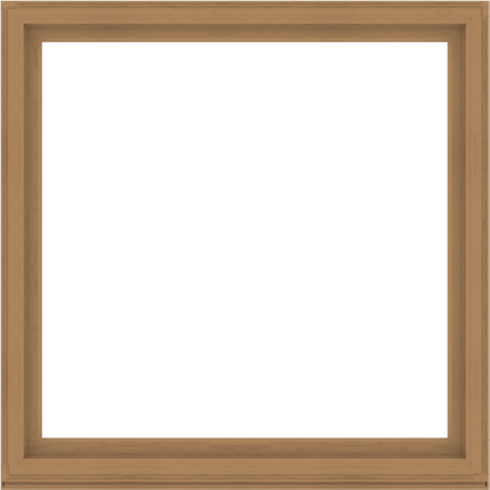 WDMA 68x68 (67.5 x 67.5 inch) Composite Wood Aluminum-Clad Picture Window without Grids-1