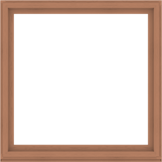 WDMA 68x68 (67.5 x 67.5 inch) Composite Wood Aluminum-Clad Picture Window without Grids-4