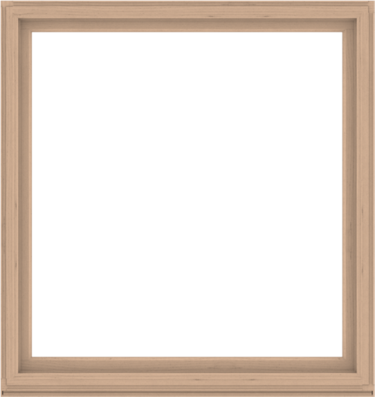 WDMA 68x72 (67.5 x 71.5 inch) Composite Wood Aluminum-Clad Picture Window without Grids-2