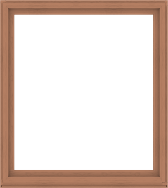 WDMA 68x76 (67.5 x 75.5 inch) Composite Wood Aluminum-Clad Picture Window without Grids-4