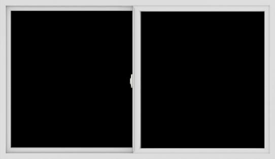 WDMA 72x42 (71.5 x 41.5 inch) Vinyl uPVC White Slide Window without Grids Interior