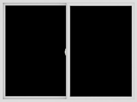 WDMA 72x54 (71.5 x 53.5 inch) Vinyl uPVC White Slide Window without Grids Interior