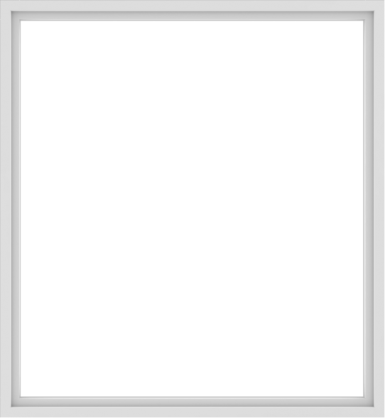 WDMA 72x78 (71.5 x 77.5 inch) Vinyl uPVC White Picture Window without Grids-1