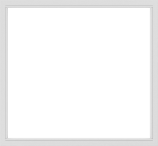 WDMA 78x72 (77.5 x 71.5 inch) Vinyl uPVC White Picture Window without Grids-2
