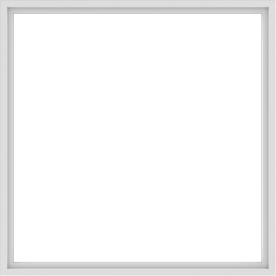WDMA 78x78 (77.5 x 77.5 inch) Vinyl uPVC White Picture Window without Grids-1