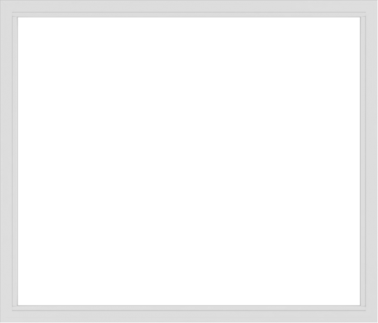 WDMA 84x72 (83.5 x 71.5 inch) Vinyl uPVC White Picture Window without Grids-2