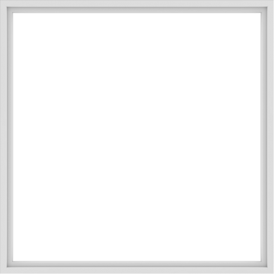 WDMA 84x84 (83.5 x 83.5 inch) Vinyl uPVC White Picture Window without Grids-1