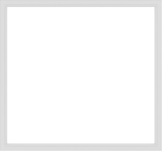 WDMA 90x84 (89.5 x 83.5 inch) Vinyl uPVC White Picture Window without Grids-2