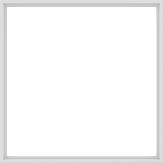 WDMA 96x96 (95.5 x 95.5 inch) Vinyl uPVC White Picture Window without Grids-1