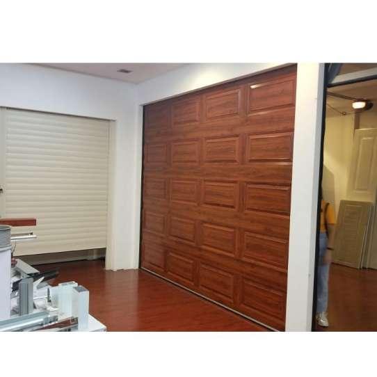 WDMA wood garage door