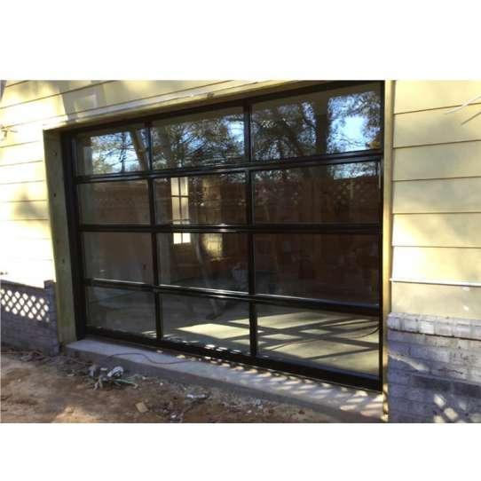 WDMA transparent garage door
