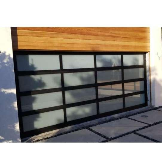 China WDMA transparent garage door Garage Door Roller Shutter Door