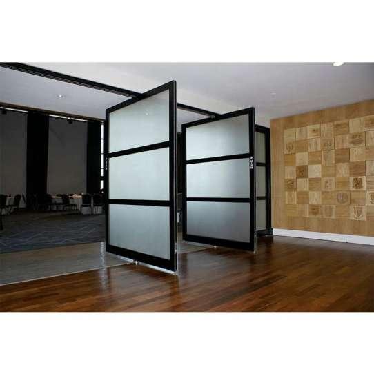 China WDMA 180 degree hinge pivot door Aluminum Pivot Doors
