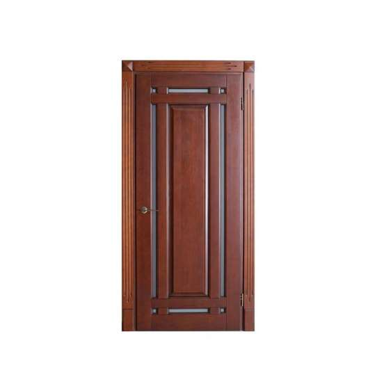 China WDMA 2 Hours Fire Rated Double Swing Wooden Doors