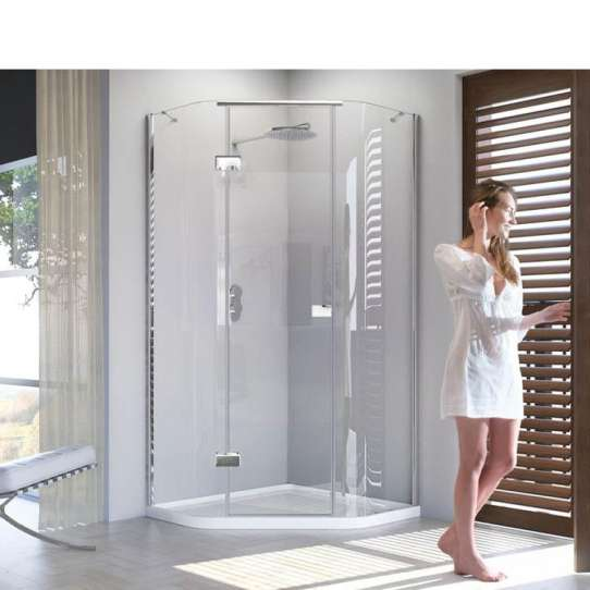 WDMA 2 sided shower enclosure