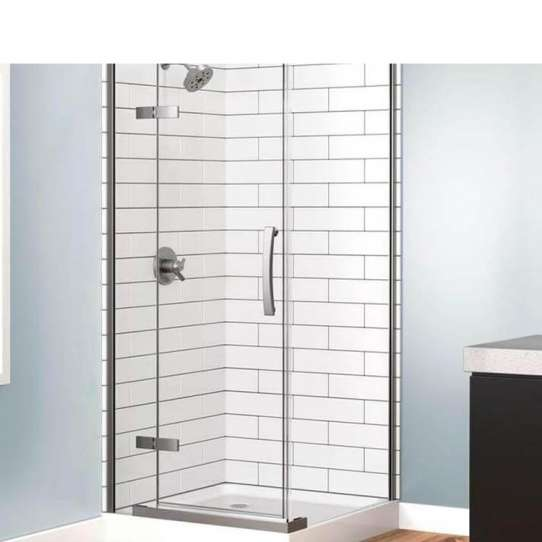 China WDMA 2 Sided 800x800 70x70 Bathroom Swing Shower Enclosure Cabin Corner Shower Cabin Door Shower Enclosure Room