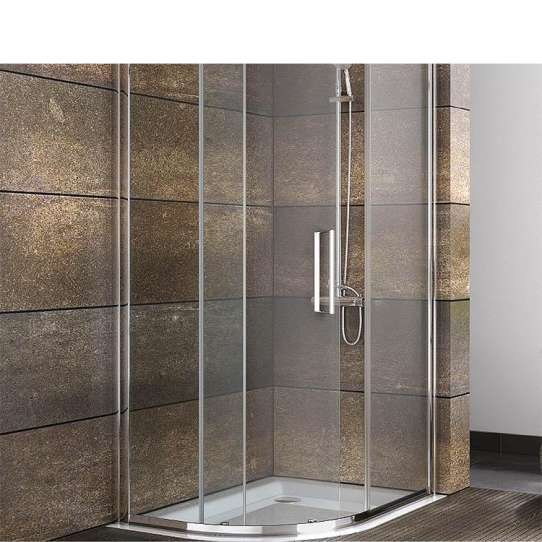 China WDMA 2 sided shower enclosure